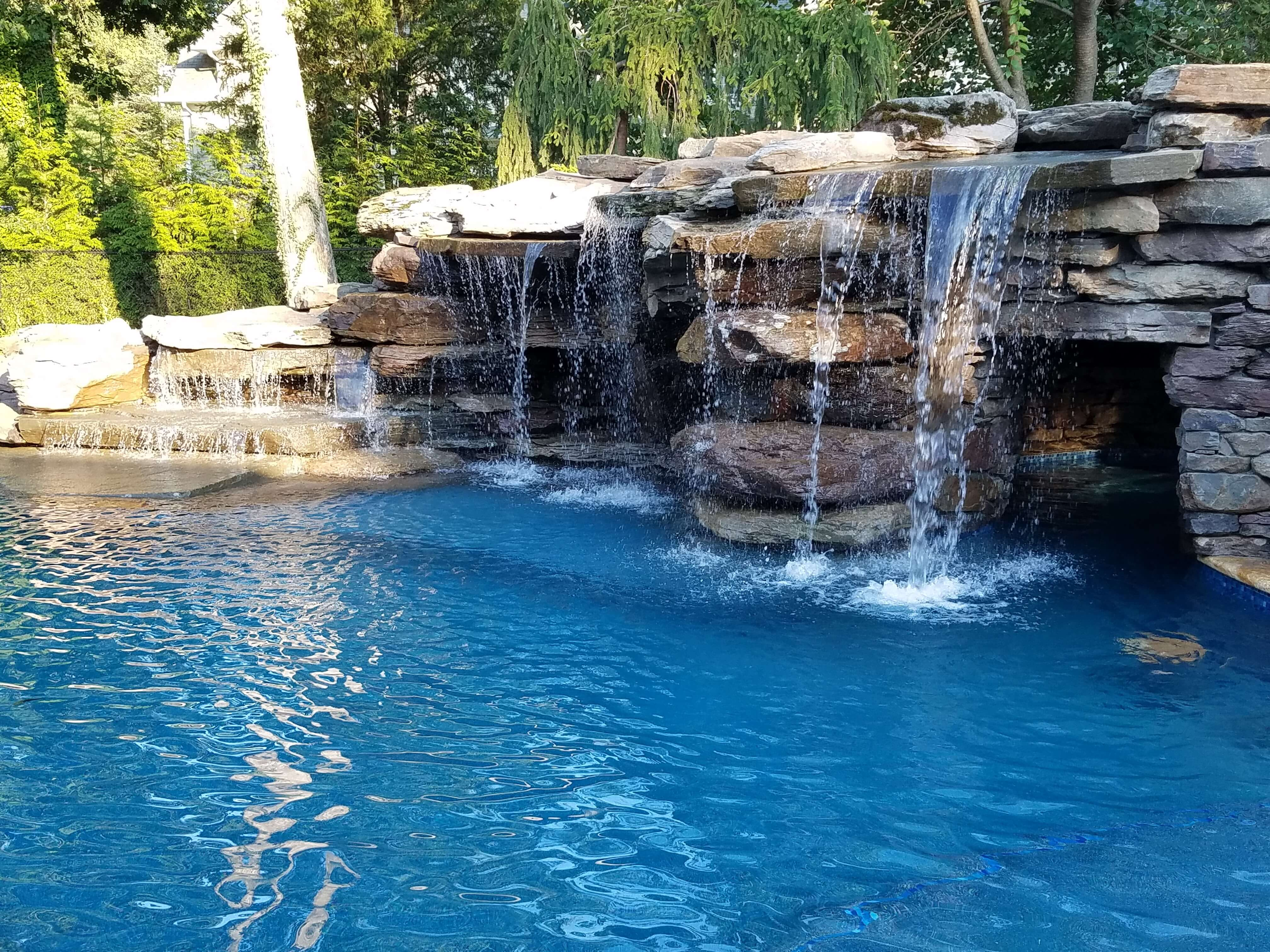 Swimming Pool Features New Jersey | Creative Master Pools